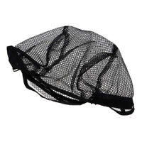 Unisex Real Human Hair Wig Nylon Braid Wig Cap Breathable Stretchy Net Cap