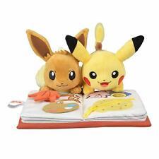 Pokemon Center Original Plush Doll Season's Pikachu & Eevee AUTUMN Japan