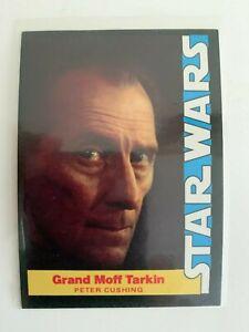 1977 Star Wars Wonder Bread Grand Moff Tarkin Cushing #6 Trading Card High Grade