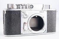 Minolta 35 Model F 35mm Film Rangefinder Camera Body for PARTS OR REPAIR V19