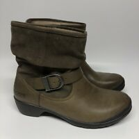 Bogs Cassie Leather Ankle Booties Womens Size 6 Waterproof Boots