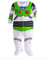 NEW DisneyStore Toy Story Buzz Lightyear OrganicCotton Stretchie PJ 12-18 Mo NWT