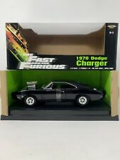 1:18 ERTL The Fast and the Furious 1970 Dodge Charger Black 36685