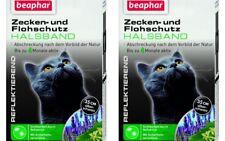 2 x Beaphar Tick & Flea Collar for Cats against Ticks and Fleas Reflective 35 CM