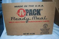Scratch &dent SALE A-Pack MRE Emergency Survival Meal Food Case Camping Boating
