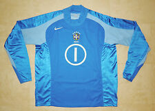 Rare BRAZIL BRASIL Dida 2004 Nike Goalkeeper Soccer Futebol Jersey Shirt Size XL