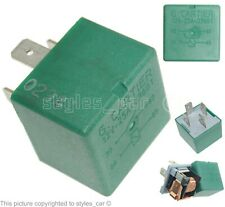 Genuine Citroen C4 C5 C8 Berlingo Saxo Xsara Xantia 4-Pin Green Relay 03601