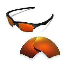 New WL Polarized Fire Red ISARC Replacement Lenses for Oakley Half Jacket XLJ