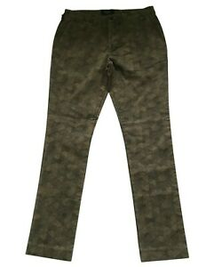 Paul Smith Patterned Slim Fit Trousers 32 R