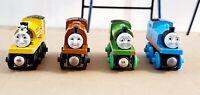 Thomas and Friends Wooden Railway Thomas Lot of 4 Thomas Proteus Duke Percy Rare