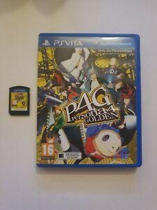 Persona 4 Golden PS Vita Game Sony PlayStation Vita Rare PSVita P4G