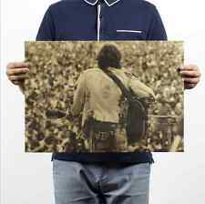 Woodstock Rock Festival Rock poster kraft paper Cafe bar poster decorative paint