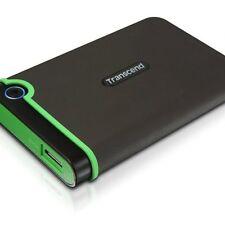 Transcend StoreJet 25M3 - Disco duro externo de 2 TB ,ultra resistente