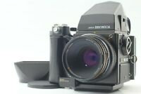 【EXC+5 w/ Grip】 Bronica SQ-A Film Camera + S 80mm f/2.8 120 Film Back From JAPAN