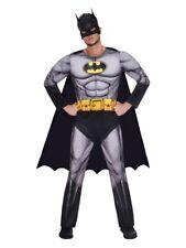 Adult Batman Fancy Dress Superhero Costume DC Comic World Book Day Week Mens