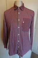 Mens Barbour Dept B Long Sleeved Check Casual Shirt - Size Large