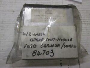 FORD GRANADA/SCORPIO  4/2 WHEEL BRAKE MODULE LUCAS 84703 REMANUFACTURED UNIT