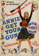 ANNIE GET YOUR GUN (1950) • Uncut with Herald • 36 pages with poster cover