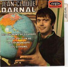 JEAN-CLAUDE DARNAL LES CHEMINS DE L'EUROPE FRENCH ORIG EP JEAN-DANIEL MERCIER