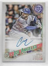 2018 Topps Gypsy Queen Andrew Toles On Card Auto Autograph  #GQAAT LA Dodgers