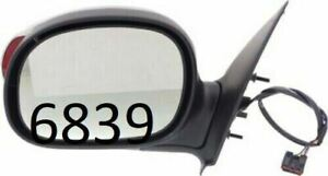 Driver Side Chrome Mirror for Ford F-150, F-150 Bronco, F-250 FD92CL 00-02
