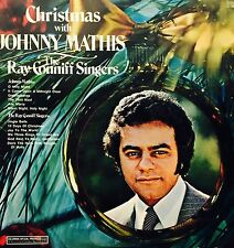 johnny mathis and ray conniff singers christmas with johnny vinyl lp - Ray Conniff Christmas