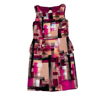 Review Women's A-Line Dress Size 12 Fully Lined