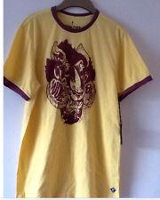 IRON FIST Mens Longer Ringer  T Shirt NEW! Size: M