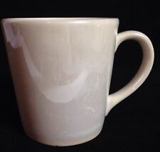 Starbucks 2012 White Pearl Ivory Pearlescent Opalescent Mug Cup Portugal