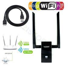 Dual Band Antenna 802.11ac 1200Mbps USB 3.0 Wireless WiFi Win Linux Mac Adapter