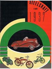 Murray MERCURY 1937 Steelcraft catalog  pedal CARS and vintage bicycles COLOR