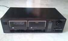 Vintage THOMSON DK 313 stereo cassette deck, working
