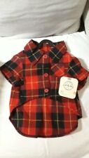 Petco Bond and Co Camp Plaid Flannel Shirt for Dogs