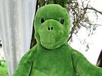 "Build A Bear Workshop Very Soft Green Turtle 17"" Plush Stuffed Animal Doll"