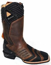 NEW ARIAT CATALYST VX WORK WATERPROOF DISTRESSED BROWN COMPOSITE TOE BOOTS 8 M