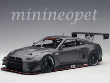 AUTOart 81583 NISSAN SKYLINE GT-R NISMO GT3 1/18 MODEL CAR DARK MATTE GREY
