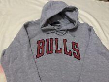 Men's Fanatics CHICAGO BULLS Backer ARE #69 Mid-wt Grey Hoodie - Medium,new