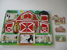 Wooden Toy Melissa & Doug Hide & seek Farm Toy Lot