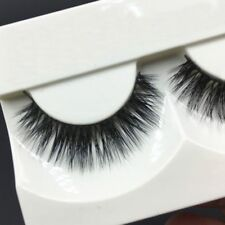 Real Natural Soft 3D Eye Lashes False Eyelashes Fake Eye Lashes Mink Hair