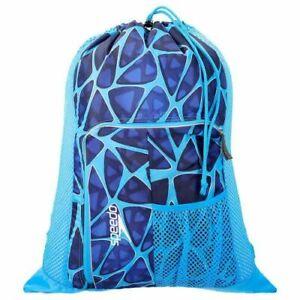 Speedo Deluxe Ventilator Swimming Equipment Fast Drying Mesh Bag