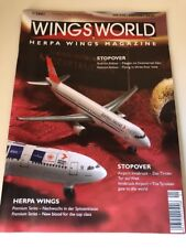 HERPA WINGS WORLD MODEL MAGAZINE ENGLISH GERMAN 1/2001