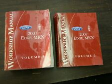 OEM Ford 2007 Edge Shop Manuals Books nos Lincoln MKX