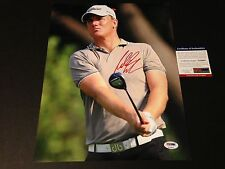 Robert Karlsson Golf Signed Auto 11x14 Photo PSA/DNA COA