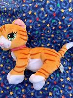 "2006 Barbie TWYLA the Orange Tabby CAT 9"" Plush Stuffed Toy by Mattel"