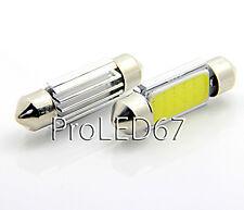 2 ampoules navettes  41 mm   LED COB  plafonnier BLANC ampoule à LED