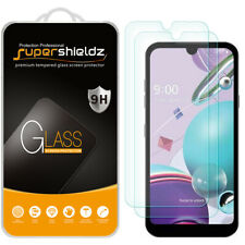 [2-Pack] Supershieldz Tempered Glass Screen Protector for LG K31