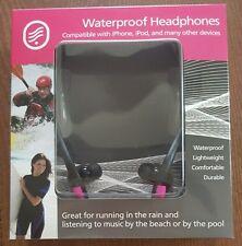 Grantwood Technology's Waterproof Headphones, Pink