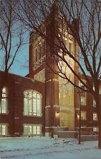 Grand Forks~University of North Dakota~Chester Fritz Library~Night Lights~1963