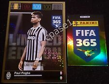 XXL Limited - Paul Pogba / Juventus - Panini Adrenalyn XL FIFA 365