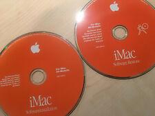 Selten · Apple Betriebssystem Mac OS 8.6 · für iMac DV-Modell + Software Restore